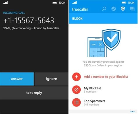 truecaller app for windows phone updated with new features