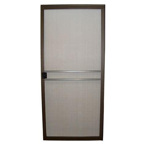 bronze screen door aluminum screen bronze aluminum screen door
