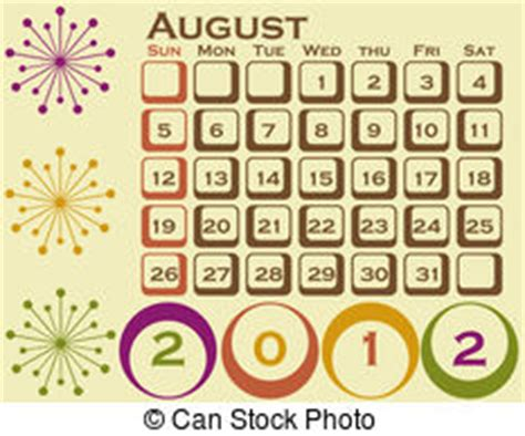 August Illustrations and Clip Art. 31,386 August royalty ...