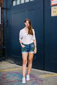 Denim Shorts and White Shirt - why itu0026#39;s one of my favourite combinations