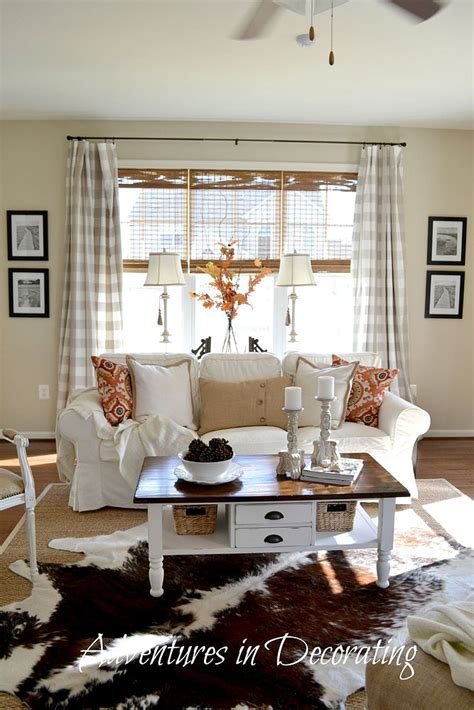 hometalk  fall home decorated great room