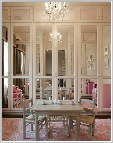 mirrored bifold closet doors without bottom track home