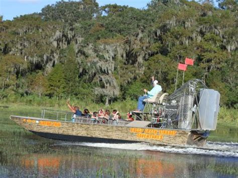 Airboat Adventures At Boggy Creek by Airboat Rides In Orlando Atd