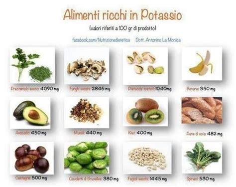 potassio alimentare