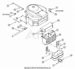 Mtd 13ag601h729  2005  Parts Diagram For Engine Accessories