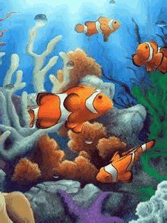 mobile phone screensaver fish
