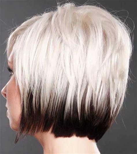 Good Hair Colors For Short Hair Short Hairstyles 2018