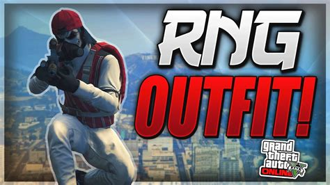 GTA 5 ONLINE *RNG OUTFIT* HOW TO MAKE A DOPE RNG OUTFIT (AFTER PATCH 1.37) - YouTube