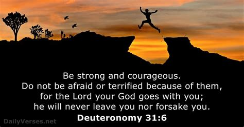 January 3 2018 Bible Verse Of The Day Deuteronomy 31