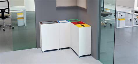 poubelle de bureau tri selectif mobilier de bureaux dalla santa à bordeaux les