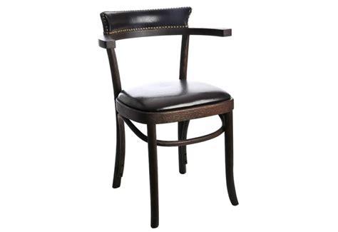 chaise avec accoudoir but chaise bistrot en chêne brun avec accoudoir 57x77cm j line