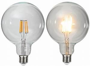 Umrechnung Led Glühbirne : extra gro e led gl hbirne filament ca 12 5 x 17 6 cm ~ A.2002-acura-tl-radio.info Haus und Dekorationen
