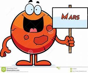 Cartoon Mars Sign stock vector. Illustration of clipart ...