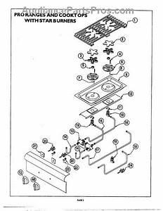 Parts For Thermador Pcs366  Star Burner Diagram Parts