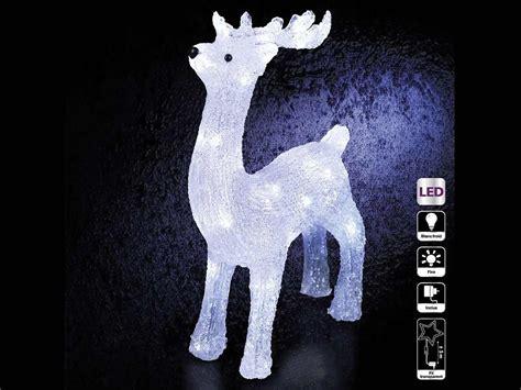 decoration noel renne lumineux renne lumineux d 233 coration de no 235 l 40 led jardideco