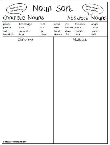 best 25 abstract nouns ideas on concrete