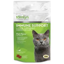 l lysine for cats immune support l lysine supplement chews for cats 30 ct