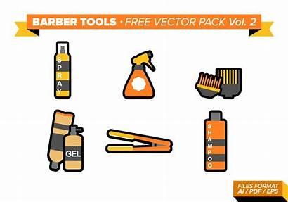 Barber Tools Vector Clipart Vol Pack Clip