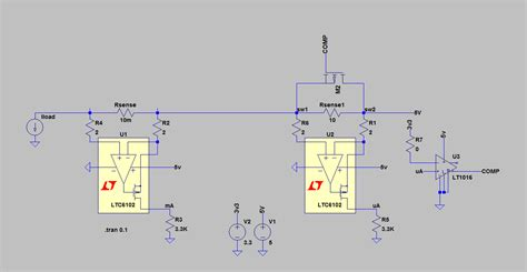 Operational Amplifier Automatic Ranging Current Sensing