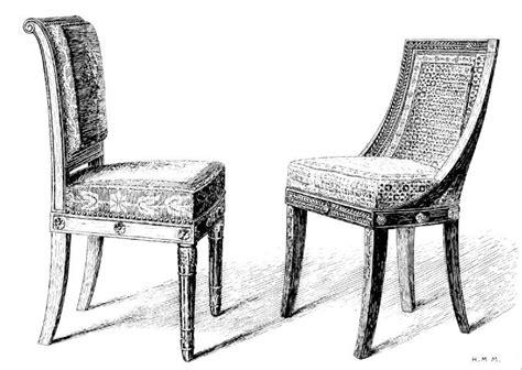 comment dessiner une chaise chaise dessin