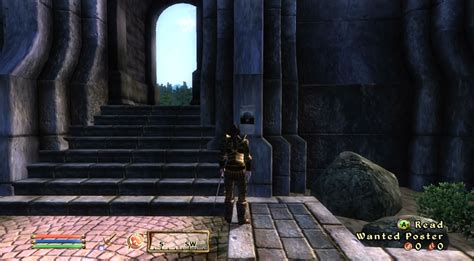 elder scrolls iv oblivion walkthrough page