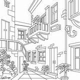 Coloring Pages Adult Cartoon Colouring Drawings Pencil Patio Sheets Bible Colorful Books Party Bakery Bohemian sketch template