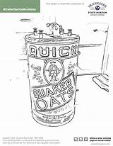 Oats Quaker Radio Coloring Crystal Template sketch template