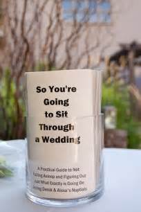 what to put on wedding programs 23 unconventional but awesome wedding ideas