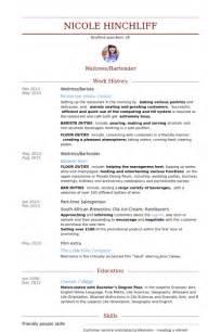 resume sle for experienced barista barista resume sles visualcv resume sles database