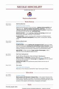 barista resume samples visualcv resume samples database With barista resume template