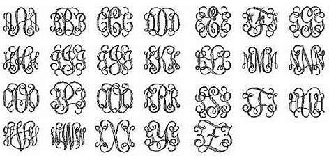 image result  amw monogram interlocking font   monogram wall hangings wooden