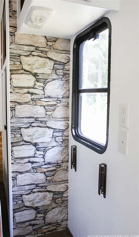 create  rustic accent wall   easily remove