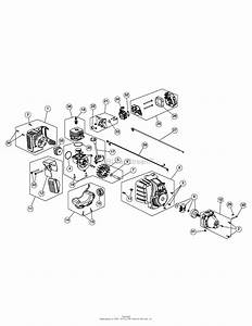 Mtd 41adz22c799  316 711190  Parts Diagram For Engine Assembly