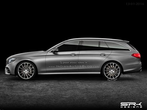 Rendering Of The Mercedes Benz E Class Estate Released