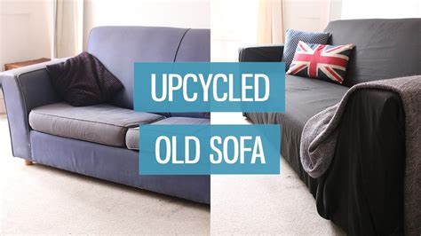 give away sofa to charity old sofa makeover upcycling diy charlimarietv youtube