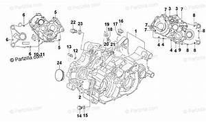 Arctic Cat Atv 2001 Oem Parts Diagram For Crankcase Assembly