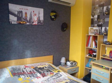 chambre à theme avec davaus idee deco chambre ado theme york avec
