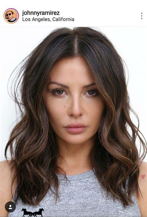 Hair Brunettes by Ramirez Lob Hair Hair Hair E Lob