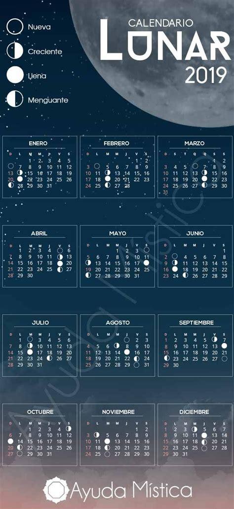 el calendario lunar  planifica tu ano nuevo