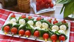 Tomate Mozzarella Spieße : tomaten mozzarella spie e youtube ~ Lizthompson.info Haus und Dekorationen