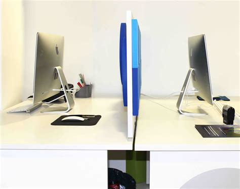 sur bureau cloison acoustique olympic 3d recto verso sur bureau