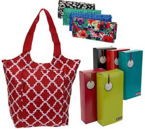 california innovations s 5 insulated totes with gift boxes page 1 qvc