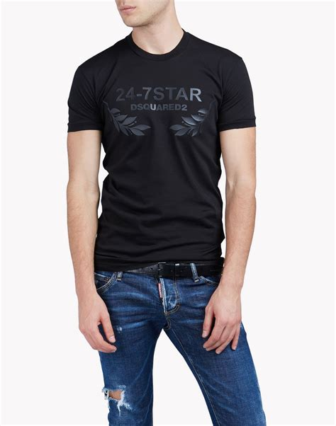 T Shirt 24 dsquared2 24 7 t shirt sleeve t shirts for