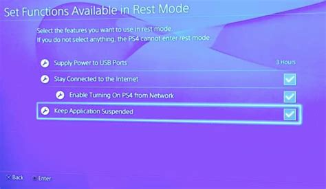 Ps4 Suspend Resume Power Consumption by Turn On Ps4 Suspend Resume Feature In Settings Product Reviews Net