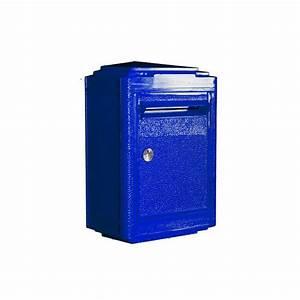 Boite Aux Lettres La Poste : boites aux lettres bleue la poste la boite jaune rose ~ Melissatoandfro.com Idées de Décoration