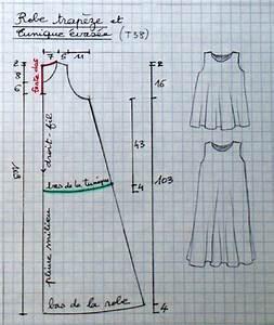 robe trapeze et tunique evasee toutes tailles la bobine With patron robe évasée gratuit