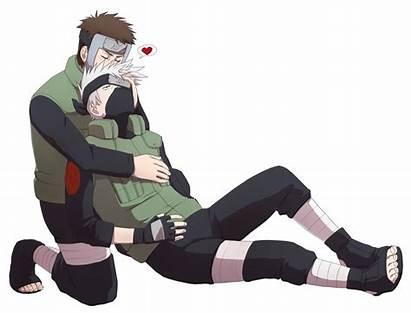 Kakashi Naruto Hatake Yamato Tenzou Kakayama Kiss