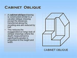 Cabinet Oblique Definition