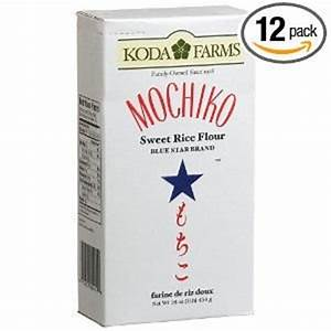 Mochiko Sweet Rice Flour, 1-Pound Packages (Pack of 12 ...