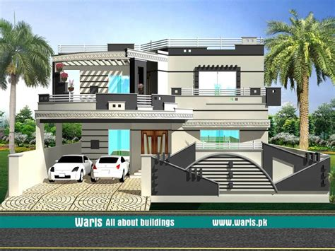 1 kanal house designs elevations in 2019 house design
